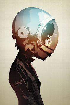 astronaut helmet illustration - Pesquisa Google