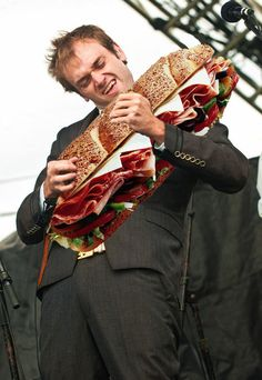 Chris Thile with a sub. I'm not sure who photoshopped this or why, but thank you.