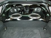 Chevy Corvette Custom Fiberglass Woofer Enclosure