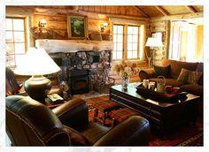 Interior Cabin Wall Ideas Rustic Living Room Ideas On Living Room