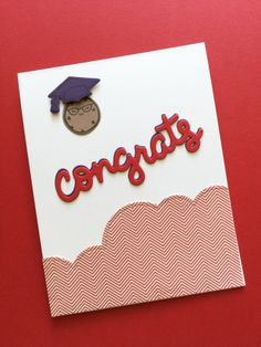Graduation Congrats card featuring Lawn Fawn Smart Cookie