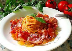 培根蕃茄義大利麵
