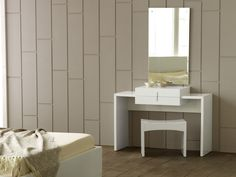 As with all of our complements the dresser unit is available in wood veneer finishes to match our range of beds.