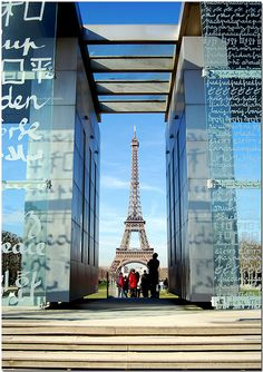 The Wall for Peace, Paris