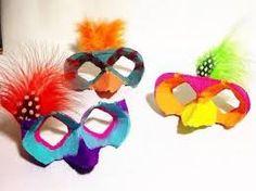 mascares fetes amb cartró - Cerca amb Google