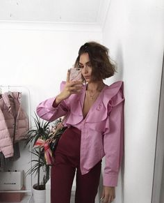 Casual Fall Outfits That Will Make You Look Cool – Fashion, Home decorating Colorful Outfits, Pink Outfits, Look Fashion, Fashion Beauty, Fashion Outfits, Fashion Design, Fashion Trends, Diy Fashion, Mode Style