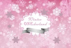 Camera & Photo Custom Onederland Snowflake Pink Silver Flower Leaves Backdrops High Quality Computer Print Birthday Background Delicacies Loved By All