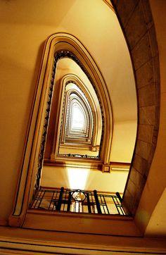 Circulo Bellas Artes  Escalera.... al cielo
