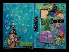 Another spread for 21 Secrets..class by Terri Kahrs..loved this class so much!