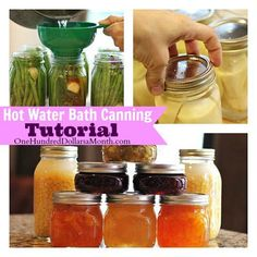Everything You Need to Know About Canning PLUS Lot's of Recipes