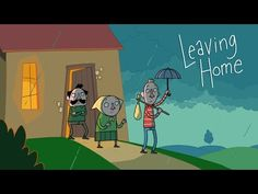 Leaving Home - Uit Huis - by Joost Lieuwma on Vimeo Leaving Home Quotes, Short Flim, Funny Toons, Media Literacy, Cool Animations, Writing Workshop, Youtube, Animated Gif, Veggies