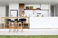 Onside outside kitchen at the Bulimba Hill House, Brisbane Australia  PHOTO Mindi Cooke for issue #7