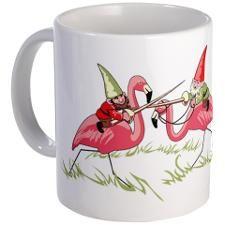 Jousting Gnomes Mug