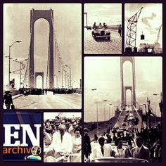 Inauguración del puente de Angostura. 06 de enero de 1967