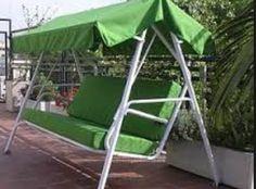 Columpio techo verde