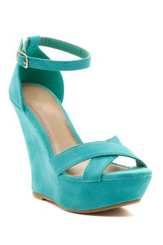 Fashion Focus Ardo Wedge Ankle Strap Sandal