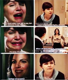 Regina character development Mills. You're doing it right.