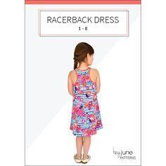 Racerback Dress, by Hey June, free pattern