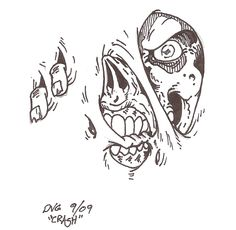 MindLess Indulgence: Zombie saturday - Zombie drawings