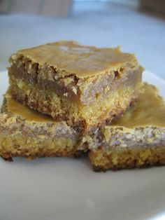 """""""Cookie Butter"""" Gooey Butter Cakes I'm going to have to check out this """"Cookie Butter"""" stuff!"""