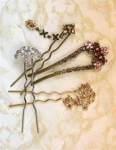 FRENCH HAIR FORK COLLECTION: need to add to my birthday wish list!