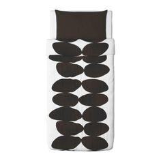 KAJSA STEN Duvet cover and pillowcase(s) - Twin - IKEA $39.99