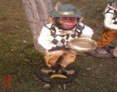 Kasel Статуя обезьяны