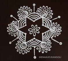 Easy Rangoli Designs Videos, Indian Rangoli Designs, Rangoli Designs Latest, Simple Rangoli Designs Images, Rangoli Designs Flower, Rangoli Border Designs, Rangoli Designs With Dots, Beautiful Rangoli Designs, Rangoli Borders