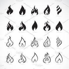Dope Tattoos, Mini Tattoos, Small Tattoos, Tattoos For Guys, Tatoos, Forearm Tattoos, Fire Tattoo, Tattoo Set, Easy Drawings