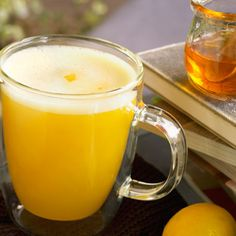 Honey Lemon Citrus: Fresh Orange Juice, Fresh Apple Juice, Honey, Lemon Juice