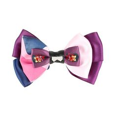 Steven Universe Garnet Cosplay Hair Bow Hot Topic ($6.37) ❤ liked on Polyvore featuring accessories, hair accessories and bow hair accessories