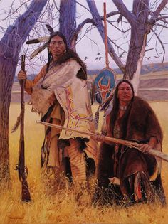White Wolf : Beautiful Art of David Yorke Captures The Power And Strength of Native Americans