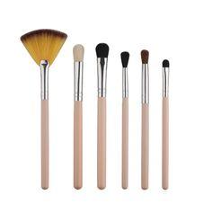 Hot Sale 6 PCS/Set Powder Cosmetic Makeup Brush Blusher Eye Shadow Brushes Set Kit For Beauty #Affiliate