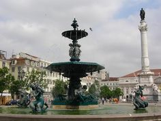 Rossio, Lisbon (Portugal)