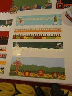 Border maker ideas 3 (From Sheila Johnson's Facebook page)