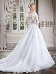 Callas 08 - costas  #coleçãocallas #vestidosdenoiva #noiva #weddingdress #bride #bridal #casamento #modanoiva