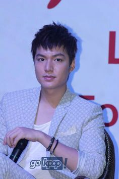 Lee Min Ho in a press conference in Malaysia for his My Everything Global Tour (06.28.2013)