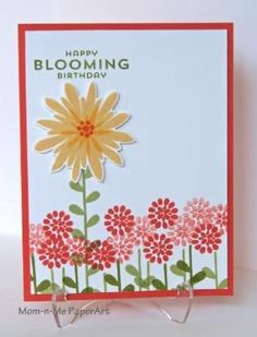 Stampin' Up! ... handmade card: Bloomin' Birthday! by Penny627 ... pretty card with lots of little flowers and one stand-out bloom ...