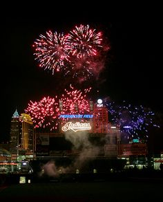 fireworks pictures in cleveland ohio   cleveland indians vs minnesota twins progressive field cleveland ohio ...
