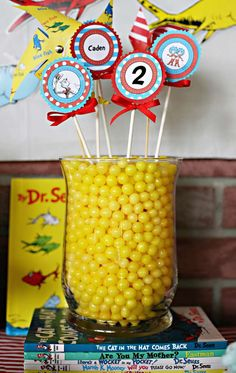 Dr. Seuss Birthday Party Ideas | Photo 7 of 26 | Catch My Party