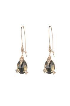 8b7765695 Crystal Encrusted Mosaic Futurist Drop Earring - orchard mile - $175 Women  Jewelry, Fashion Jewelry