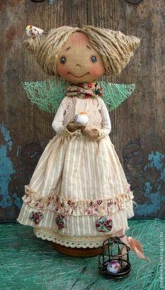 Коллекционные куклы ручной работы. Весна-красна. Дана Свистунова. Интернет-магазин Ярмарка Мастеров. Весеннее настроение, бежевый, пастель: