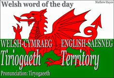 #Welsh word of the day: Tiriogaeth/ #Territory