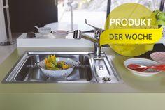 Barrierefrei spülen: Argos Care Center von Franke #News #Küche