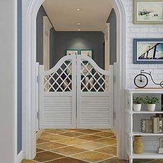 Swinging Doors Kitchen, Kitchen Doors, Cafe Door, Door Bar, Wardrobe Door Designs, Wardrobe Doors, Partition Door, Dog Gates, Wall Mounted Table