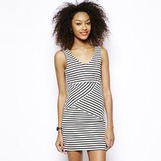 a0851078afe LTB NIDERA - Jerseykleid - black white für € versandkostenfrei bei Zalando  bestellen.
