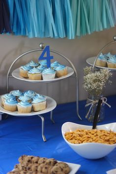 Blue ombre party inspiration!