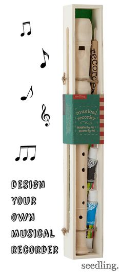 Revive a classic instrument with some fresh paint and fun designs!