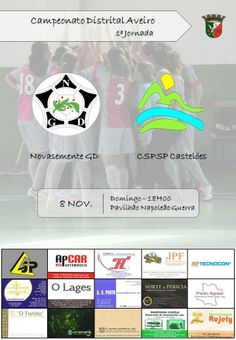 Futsal_ Nova semente GD vs CSPSP Castelões _Campeonato Distrital Aveiro | Futsal Feminino_ > 8 Novembro 2015, 18h @ Anta, Espinho