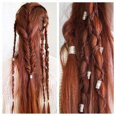 multi-braids hairstlye